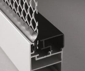 Profil aluminiowy wentylowany