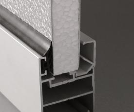 Profil aluminiowy ocieplony